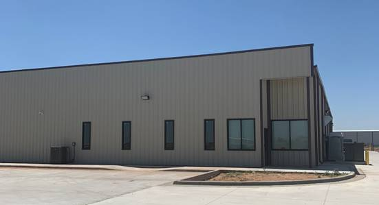 The new branch office is located in Lubbock, Texas.