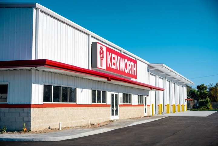 Kenworth of South Florida - Riveria Beach has relocated to a new facility.  - Photo courtesy of Kenworth