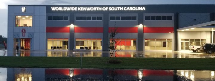 The 37,500-square-foot building features a 22,000-square-foot parts warehouse with a large, fully stocked inventory to support fleets and truck operators in the Charleston area.