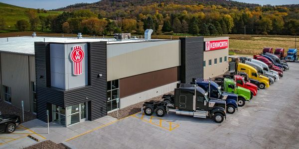 Wisconsin Kenworth is a 25,000-square-foot facility.