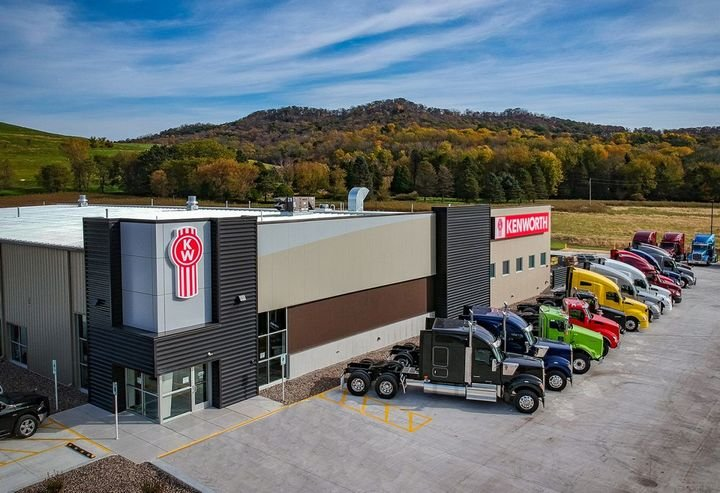 Wisconsin Kenworth is a 25,000-square-foot facility. - Photo: Kenworth