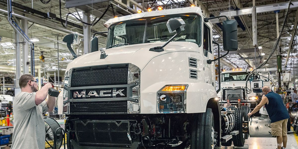About 3,500 Mack Trucks employees who are members of the United Auto Workers union went on...