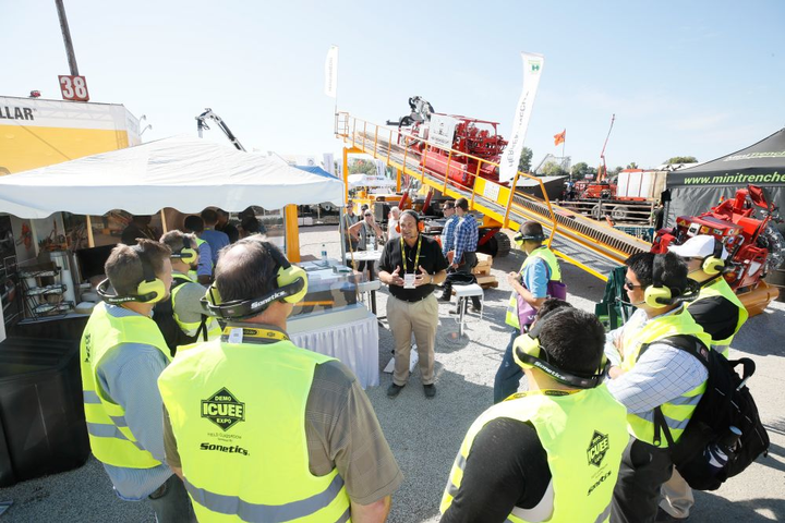 Field classrooms allow ICUEE attendees to learn without leaving the show floor.  - Photo courtesy of ICUEE