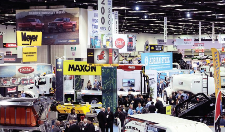 The 2019 Work Truck Show exhibit hall will be open March 5-8, 2019.