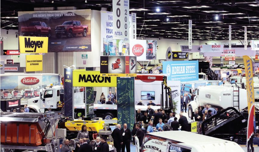 Work Truck Week features three days of educational programs, multiple networking opportunities, and a two-day Work Truck Show Ride-and-Drive.  - Photo: NTEA
