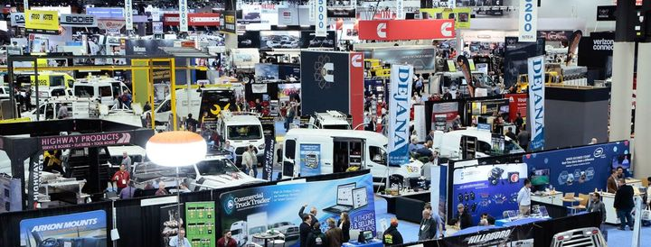 Thousands of attendees explore the industry's newest commercial truck and equipment offerings at The Work Truck Show 2019.