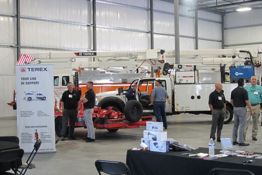 Terex opened a new 35,000-sq.-ft. service center in Lancaster, Pa.