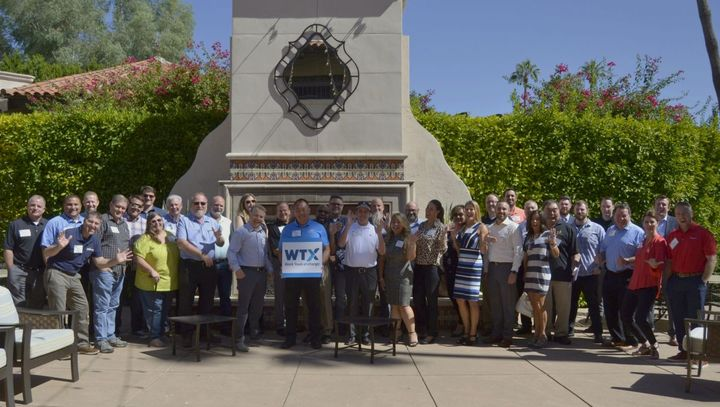 Fleet managers and supplier hosts gathered in the sun at the 2019 Work Truck eXchange (WTX).