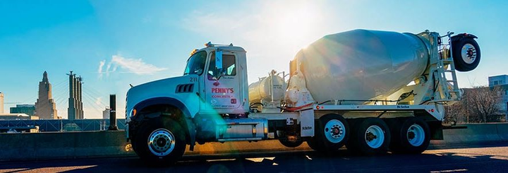 Penny's Concrete made the decision to implement the SmartDrive system across its entire fleet of 130 vehicles based on results achieved by several ready-mix fleets already using the SmartDrive solution