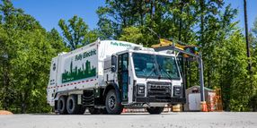 Mack LR Electric Helps NYC Department Win Calstart Honor