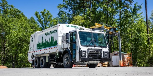 DSNY accepted the keys to the Mack LR Electric demonstration model in September 2020, when it...