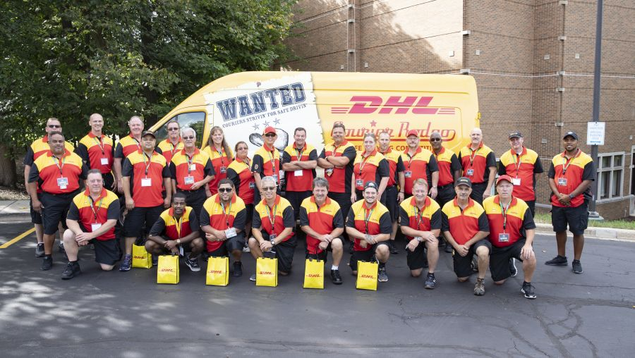 DHL Holds Third Driver Safety Competition