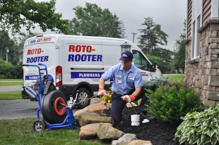 Roto-Rooter's fleet includes 1,500 vehicles.