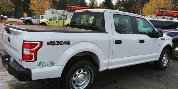 The new Ford XL F-150 light-duty truck will be used in all areas around the state including...