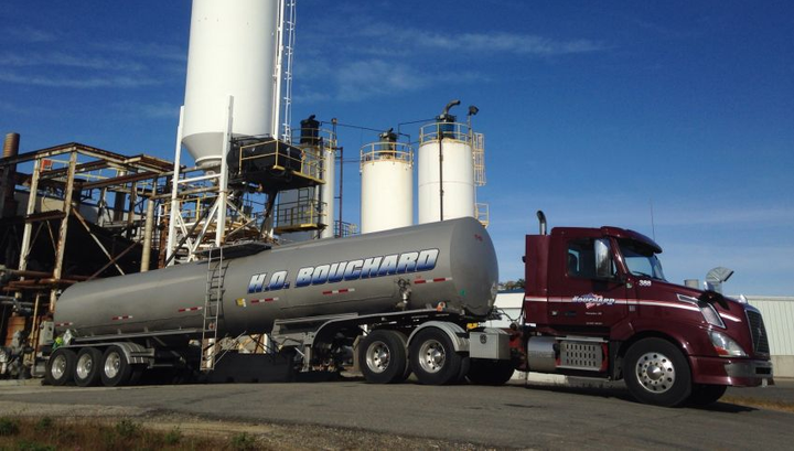 Started in 1958 as a small company operating a few dump trucks, today H.O. Bouchard is a specialized tanker fleet providing transportation services and 18-wheeler truck maintenance to the Northeastern United States, Quebec and New Brunswick.  - Photo courtesy of SmartDrive