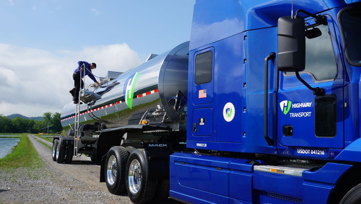 Highway Transport is a Knoxville, Tenn.-based company providing bulk transportation of specialty chemicals. The tanker fleet operates from 11 service centers in major chemical manufacturing areas across the U.S. with a fleet of 350 tractors.
