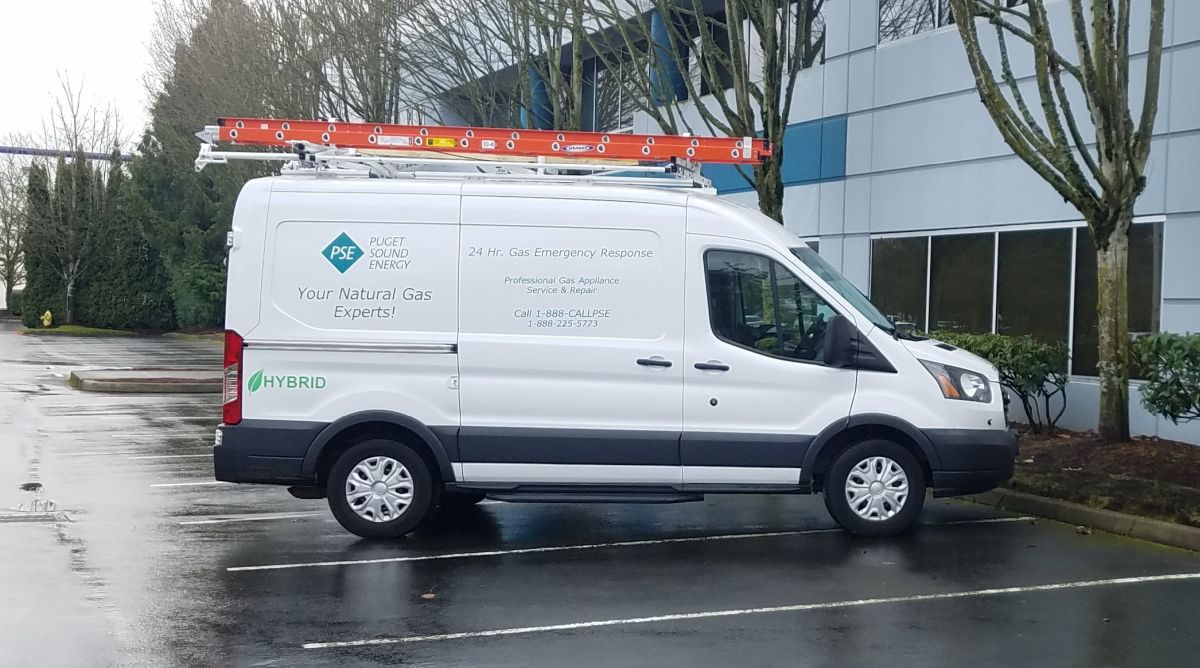 Washington Utility Grows Hybrid Van & Truck Fleet
