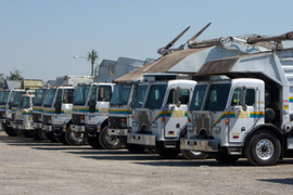 Waste Collection Fleet Saves with Renewable Diesel