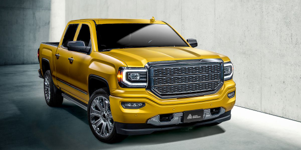 Gloss metallic-finish color options within the new color line include Energetic Yellow.