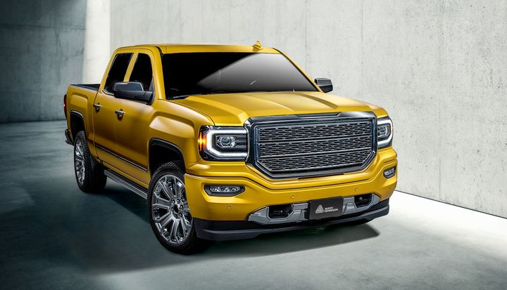 Gloss metallic-finish color options within the new color line include Energetic Yellow.  - Photo: Avery Dennison