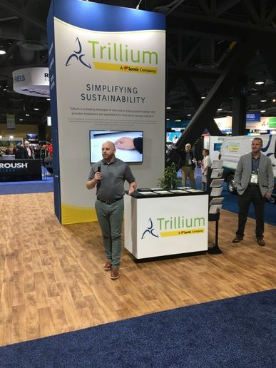 Trillium and EV Connect are partnering to install EV charging infrastructure at three existing Love's Travel Stops stores in California in Tulare, Ripon, and Coachella.  (Photo courtesy of Trillium)