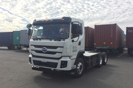 BYD Delivers Battery-Electric Truck to Calif. Port