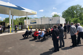 Trillium Opens Third CNG Station for PennDOT