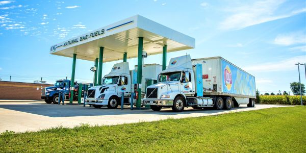 ANG's Natural Gas fueling station in Modesto is scheduled for completion in January of 2020....
