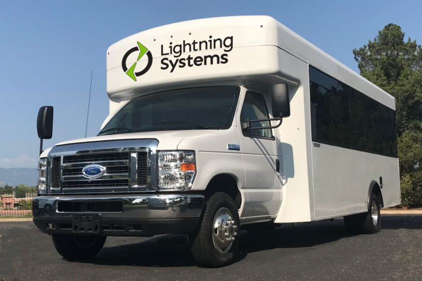 Lightning Systems announced a new all-electric, zero-emissions Ford E-450 Shuttle Bus and...
