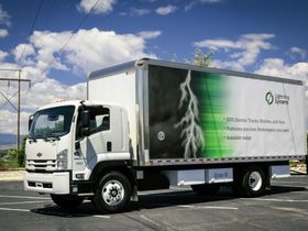 Lightning Trucks, Buses Offered on Calif. State Contract