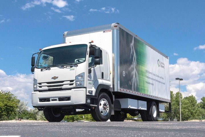 All-electric and electric, fuel cell-powered models of Chevrolet's 6500XD Low Cab Forward model, powered by Octillion batteries, are offered by Lightning Systems and Plug Power. Lightning's new mobile battery charger also uses Octillion batteries.  -