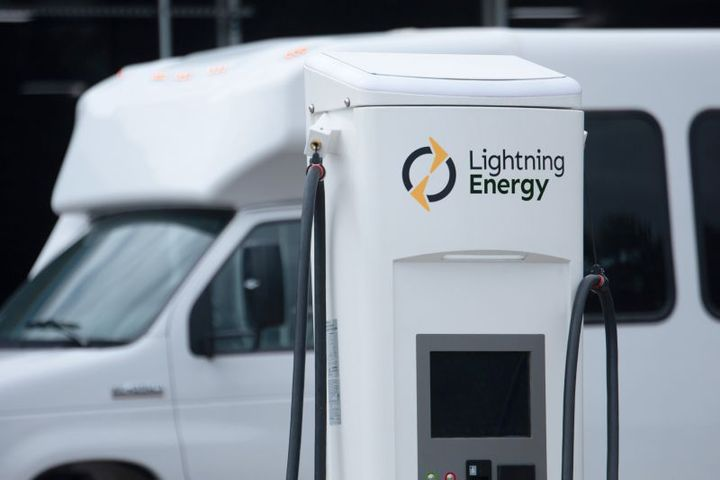 Charging as a System (CaaS) will include infrastructure installation, permitting, utilities liaison, maintenance, and ongoing management software, and regulatory credit monetization, to operate small, medium or large fleets of electric vehicles. - Photo: Lightning Energy