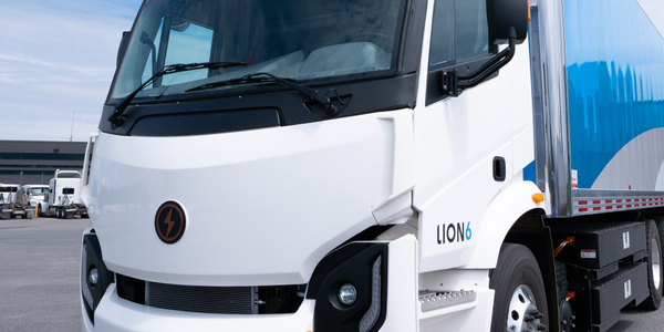 The Lion6 (pictured) and Lion8 trucks have ranges of 180 and 165 miles respectively, and will be...