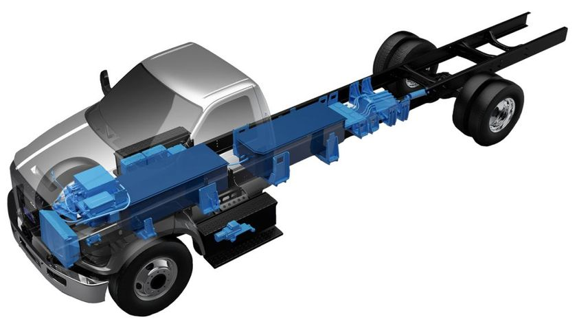 The all-electric Ford F-650 is suitable for a range of industry applications, including...