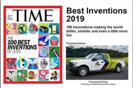 Time Names XL's Electric Drive System Top Invention