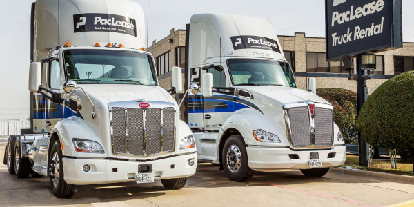 PacLease can help fleets obtain medium-duty and Class 8 trucks including the Peterbilt 579...