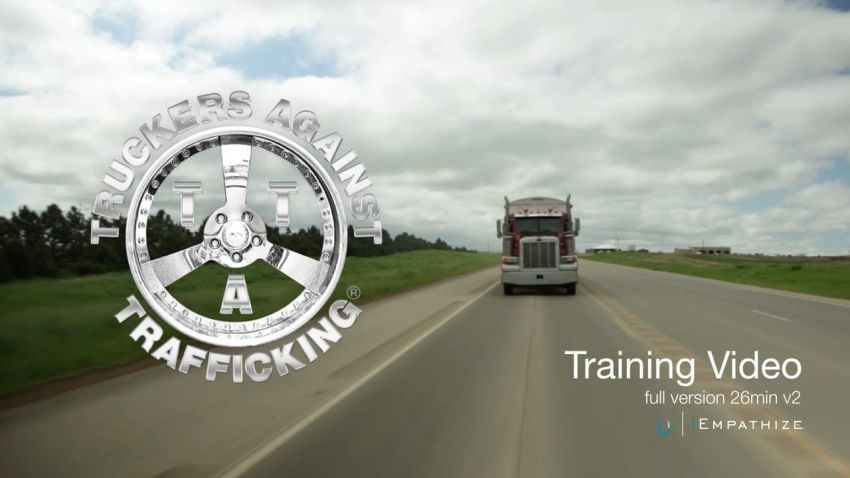 ERoad Supports Truckers Against Trafficking