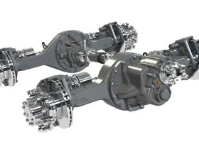Dana's Spicer Drive Axles, Driveshafts Standard on Oshkosh S-Series