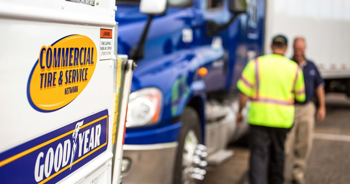 Through the program, truck drivers whose rigs have been immobilized by tire issues contact the 24/7 Goodyear-Fleet HQ Solution Center, where trained agents who are familiar with their tire requirements immediately capture vital information, including the location of the vehicle.