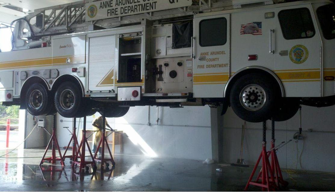 Maintenance Facilities Turn to Stertil-Koni
