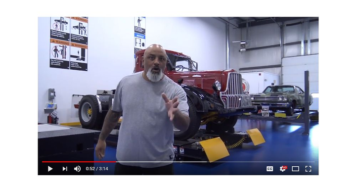 In the online video series series, car celebrity Lou Santiago gives a behind-the-scenes tour of the new LiftLab facility at ALI's headquarters in Cortland, New York. 