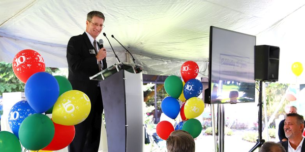 Kentwood, Mich. mayor, Stephen Kepley thanked North America Fuel Systems Remanufacturing for...