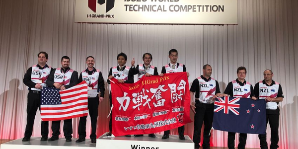 Placing second in this year's Isuzu One Grand Prix World Technician Competition, the U.S. team...