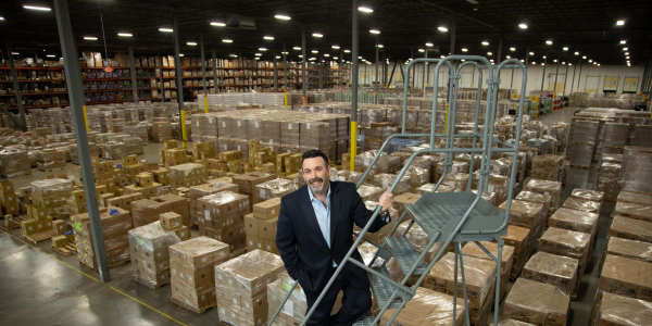 Old World Industries Vice President of Logistics, Louis Canino.
