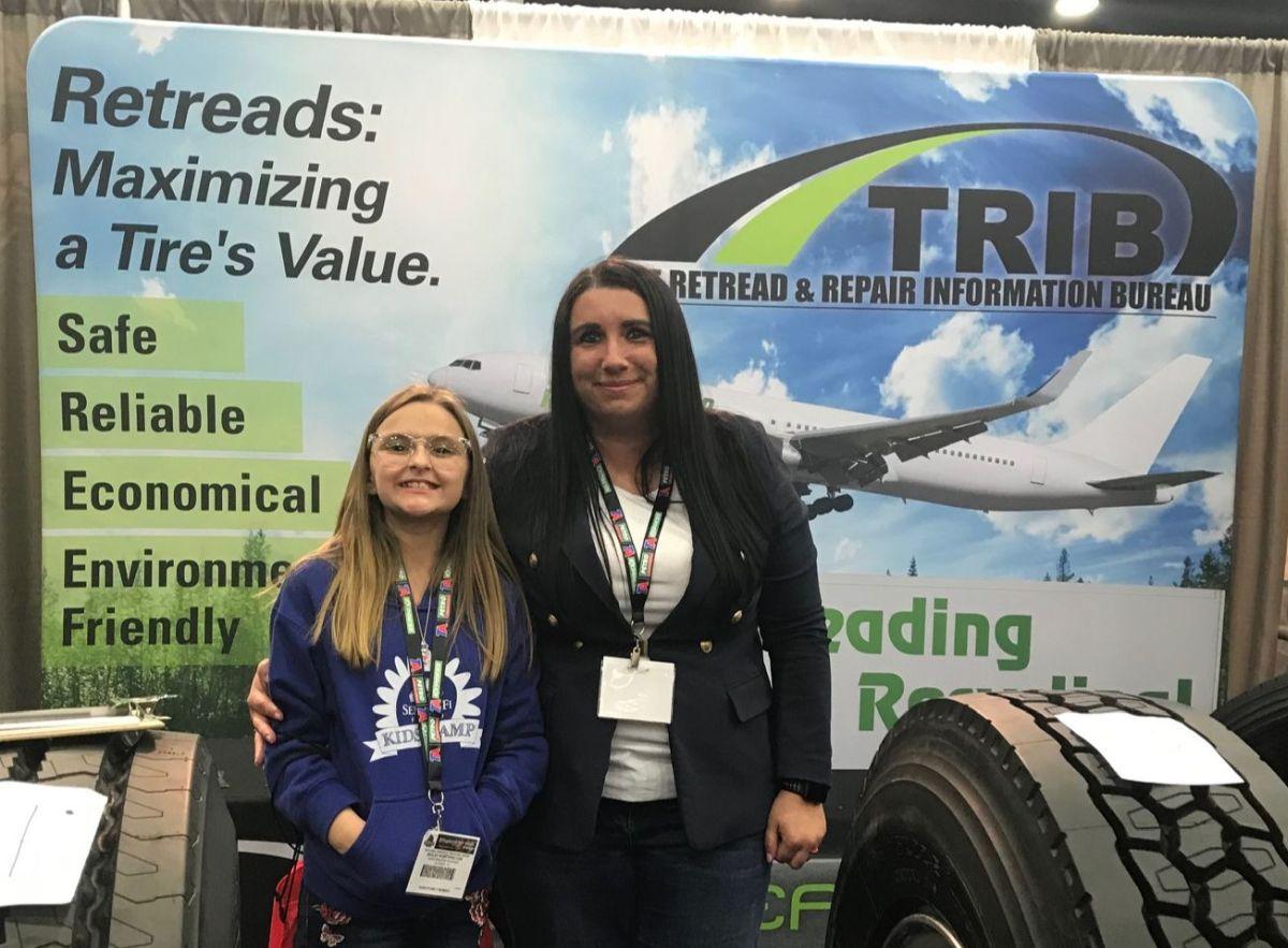 Future Trucker Wins Spot the Retreads Contest