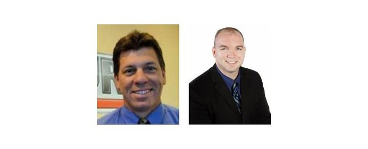 (l-r) Tony Albanese and Ian Lahmer were both promoted in this restructuring.