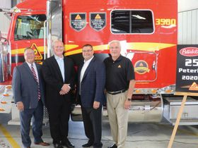 Decker Truck Lines Celebrates 2,500th Peterbilt