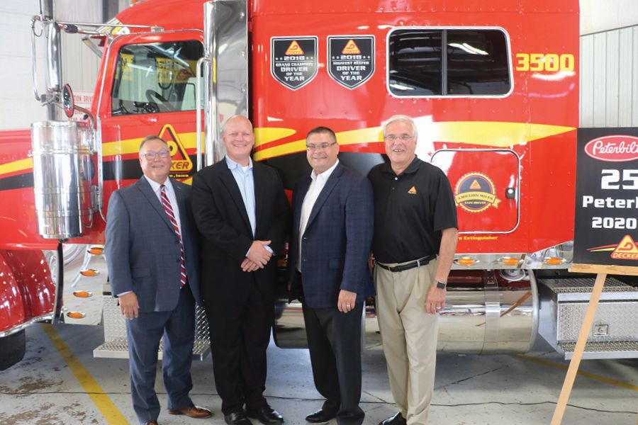 Decker Truck Lines Celebrates 2,500th Peterbilt