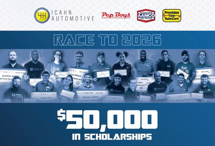 "The ""Race to 2026"" program was designed to invest in and support promising future automotive technicians.