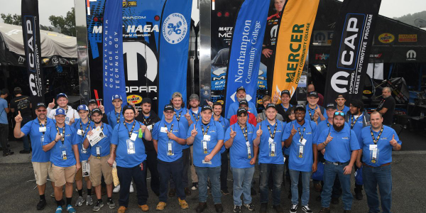 Mopar Career Automotive Program (CAP), through a partnership with Pennzoil, hosted 45 students...